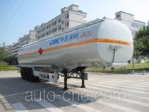 CIMC ZJV9403GRYSZ flammable liquid tank trailer