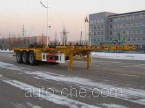 中集牌ZJV9403TJZYK01型集装箱运输半挂车