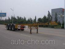 中集牌ZJV9403TJZYK51型集装箱运输半挂车