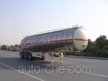 CIMC ZJV9404GRYTHE flammable liquid tank trailer