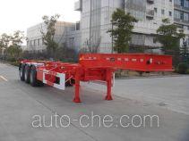 中集牌ZJV9404TJZTH型集装箱运输半挂车