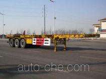 中集牌ZJV9404TJZYK01型集装箱运输半挂车
