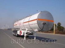 CIMC ZJV9405GRYTHA flammable liquid tank trailer