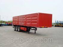 中集牌ZJV9405XXYQD型厢式运输半挂车