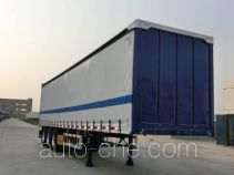 CIMC ZJV9405XXYSZ box body van trailer