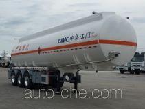 中集牌ZJV9406GYYJM型铝合金运油半挂车