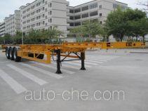 中集牌ZJV9407TJZSZ型集装箱运输半挂车