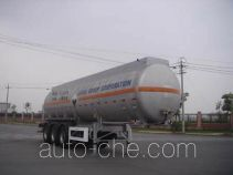 CIMC ZJV9408GHYTHB chemical liquid tank trailer