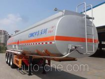 CIMC ZJV9408GRYSZ flammable liquid tank trailer