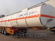 CIMC ZJV9408GRYSZB flammable liquid tank trailer