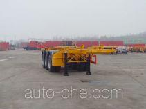 中集牌ZJV9408TJZQD型集装箱运输半挂车