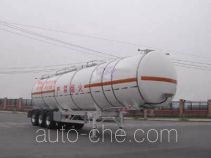 CIMC ZJV9409GHYTHA chemical liquid tank trailer