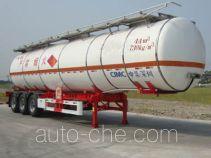 CIMC ZJV9409GRYSZ flammable liquid tank trailer