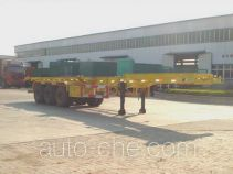 Juwang ZJW9370TJZG container carrier vehicle
