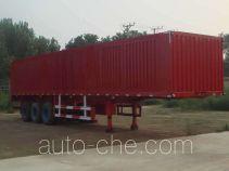 Juwang ZJW9407XXY box body van trailer