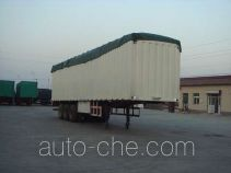 Juwang ZJW9400XXYP soft top box van trailer