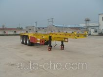 Juwang ZJW9403TJZG container transport trailer