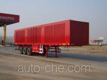Juwang ZJW9403XXY box body van trailer