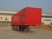Juwang ZJW9405XXY box body van trailer