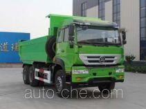 鲁专聚鑫牌ZJX3250ZZ381G1型自卸汽车