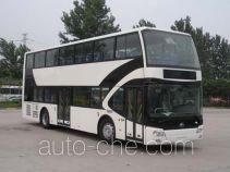 宇通牌ZK6116HNGS2型双层城市客车