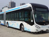 Yutong electric articulated city bus