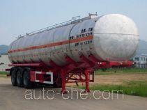 Zhongshang Auto ZL9409GRY flammable liquid tank trailer