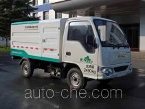 Zoomlion electric sealed garbage container truck