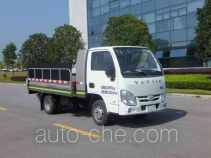 Zoomlion electric garbage container transport truck