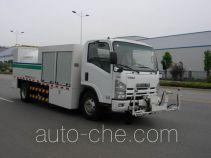 Hybrid cleaner truck