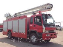 Zoomlion ZLJ5141TXFZM75 lighting fire truck