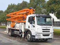 中联牌ZLJ5150THBJ型混凝土泵车