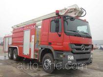 Zoomlion ZLJ5251JXFJP25 high lift pump fire engine