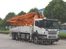 Zoomlion ZLJ5290THBS concrete pump truck