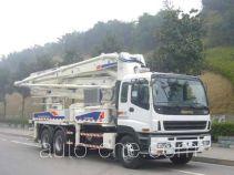 中联牌ZLJ5297THB型混凝土泵车