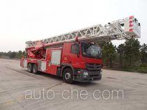 中联牌ZLJ5300JXFYT60型云梯消防车