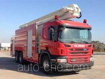 Zoomlion ZLJ5301JXFJP25 high lift pump fire engine