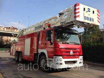 中联牌ZLJ5324JXFYT32型云梯消防车