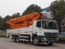 Zoomlion ZLJ5331THBB concrete pump truck