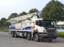 Zoomlion ZLJ5410THBS concrete pump truck
