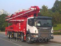 Zoomlion ZLJ5430THBK concrete pump truck