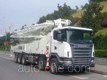 Zoomlion ZLJ5530THBK concrete pump truck