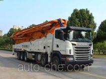 Zoomlion ZLJ5530THBS concrete pump truck