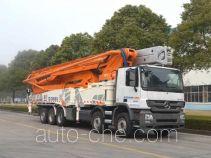 Zoomlion ZLJ5540THBB concrete pump truck