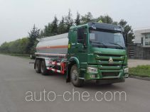 Shuangda ZLQ5257GFW corrosive substance transport tank truck