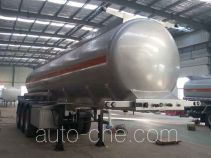 Shuangda ZLQ9400GFW corrosive materials transport tank trailer