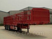 峄州牌ZLT9400CCYE型仓栅式运输半挂车