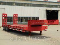 峄州牌ZLT9400TDP型低平板半挂车