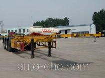 峄州牌ZLT9400TJZ型集装箱运输半挂车