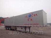 Minghang ZPS9400XXY aluminium box van trailer